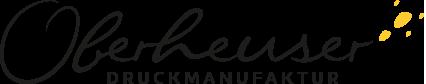 Druckerei Oberheuser aus Essen Logo